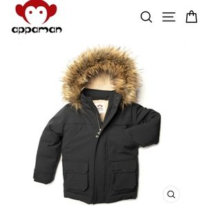 Appaman winter coat down jacket puffer